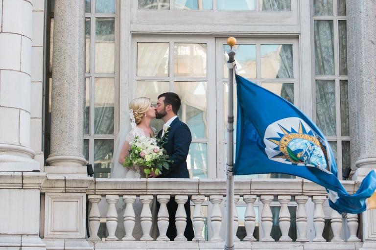 Wedding at The Hermitage Hotel Nashville
