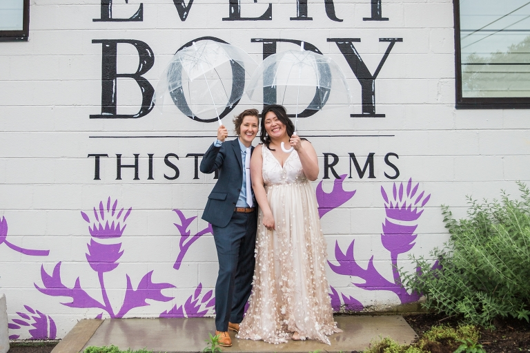 Wedding at Thistle Farms in Nashville by Deb Scally Photography
